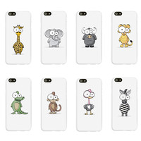 Google Eye Funny Animals Case for iPhone 6 6S