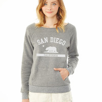 San Diego ladies sweatshirt