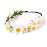 Ring of Daisies Headwrap | Icing