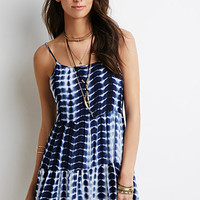 Tiered Tie-Dye Cami Dress
