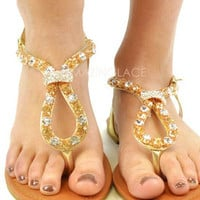 Waterford Gold Sandal