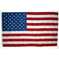 Shop Independence Flag 6-ft W x 4-ft H American Embroidered Flag at Lowes.com