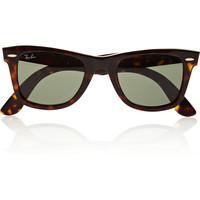Ray-Ban - The Wayfarer acetate sunglasses