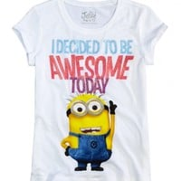 Awesome Minion Graphic Tee   Girls Graphic Tees Clothes   Shop Justice