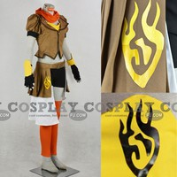 Custom Yang Xiao Long Cosplay from RWBY - Tailor-Made Cosplay Costume