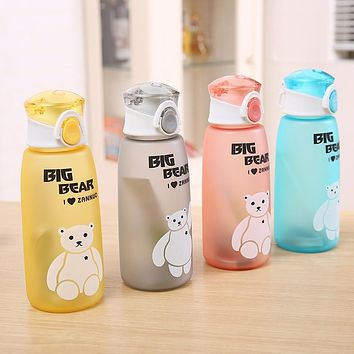 500ml Water Bottle Leakproof Material My Sports Drink Top Quality Tour hiking Portable Climbing Camp Bottles