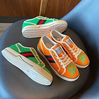 GUCCI Embroidered breathable casual sports shoes