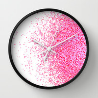 sweet delight Wall Clock by Marianna Tankelevich