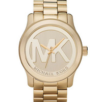 Michael Kors Logo Watch