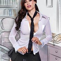 Sexy CEO Lingerie Set