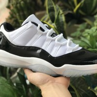 [Free Shipping ]Nike Air Jordan 11 Retro Low Concord Basketball Sneaker
