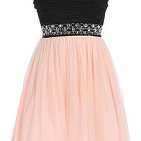 Ultimate Love Dress | Peach Blush Tulle Homecoming Prom Dresses | Rickety Rack