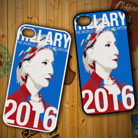 Hillary Clinton 2016 X1622 LG G2 G3, Nexus 4 5, Xperia Z2, iPhone 4S 5S 5C 6 6 Plus, iPod 4 5 Case
