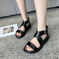 louis vuitton women casual shoes boots fashionable casual leather women heels sandal shoes 21