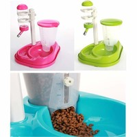 Deluxe Automatic Food/Water Combo Bowl and Automatic Water Bowl