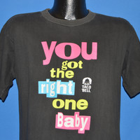 90s Taco Bell Pepsi You Got The Right One Baby t-shirt Medium