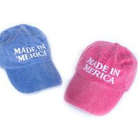 PRE-ORDER: Made In 'Merica Hats