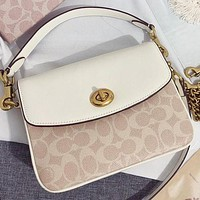 Coach New fashion pattern print leather shoulder bag crossbody bag handbag