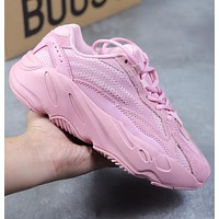 Yeezy 700 Runner Boost  Adidas Fashion Casual Running Sport Shoes Pink I/A