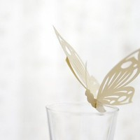 Set of 20  Butterfly  Custom Quantity  Event Decor for by MamaTita