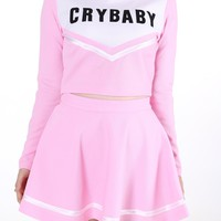 Glitters For Dinner — Made To Pink - Team Crybaby in Pink