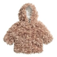 H&M Faux Fur Jacket $34.99