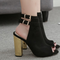 Hot style sells sexy women's sandals with high heels
