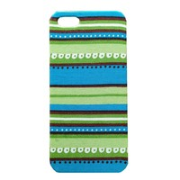 Vintage Tribe Stripe Pattern Handmade Cloth Case For iPhone 5/5s