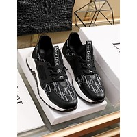 dior fashion men womens casual running sport shoes sneakers slipper sandals high heels shoes 227