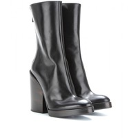 haider ackermann - lux leather boots
