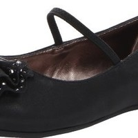 Kenneth Cole Reaction Dip To The Moon Flat (Little Kid/Big Kid),Black,1.5 M US Little Kid