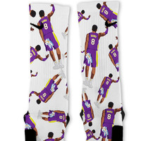 Retro Kobe Mamba Custom Nike Elite Socks
