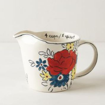 Molly Hatch Flowerpatch Measuring Cup in Multi Size: One Size House & Home