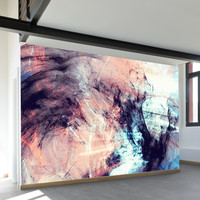 Marbled Glow Wall Mural