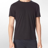 classic fit ribbed detail t-shirt | Calvin Klein