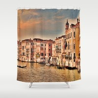 Grand Canal of Venice Shower Curtain by Theresa Campbell D'August Art