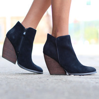 Very Volatile: Whitby Bootie {Black}