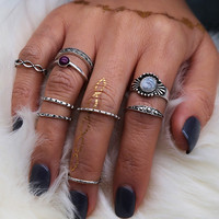 Vintage  Bohemia  Finger Rings For Women