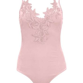 Floral Applique Body - New In