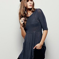 Intimately Womens Double Take Babydoll Tunic