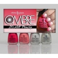China Glaze OMBRE IT'S ALL PEACHY 2013 Collection