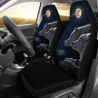 Wolves Seat Covers