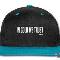 in gold we trust by wam Snapback