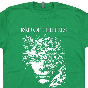 Lord Of The Flies T Shirt Literature T Shirt Cool Book T Shirts 80s Tees