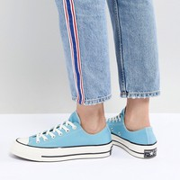 Converse Chuck '70 low trainer in blue at asos.com