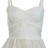 Petites Daisy Lace Bra Top - Back In Stock  - New In