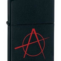 Zippo 20842 Anarchy Black Matte Lighter