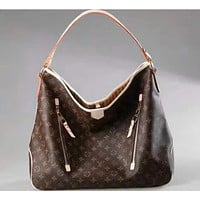 luxury Brand Bag LV Louis Vuitton Women Leather Tote Handbag Shoulder Bags