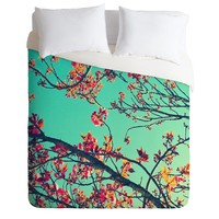 Shannon Clark Summer Bloom Duvet Cover