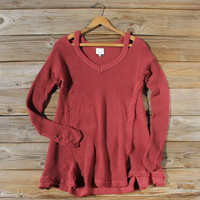 Rusted Rose Thermal in Burgundy